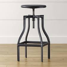 crate and barrel medicine cabinet turner black adjustable backless bar stool crate and barrel within