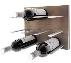 wall mounted wine racks stact walnut u2013 stact wine racks