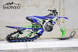 motocross bike videos snowest snow bike build bringing single track to the steep and