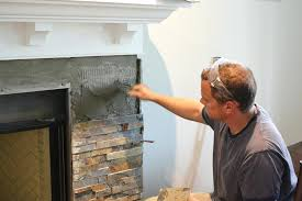 Installing Marble Tile How To Install A Marble Fireplace Surround Slate Tile Fireplace