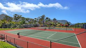 lighted tennis courts near me tennis courts at kauai resorts and public parks
