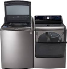 Washer Capacity For Queen Size Comforter Lg Wt7700hva 29 Inch 5 7 Cu Ft Top Load Washer With 14 Wash
