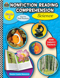 nonfiction reading comprehension science grade 6 tcr8037