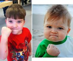 Winning Baby Meme - meet success kid 5 years later success kid and funny things