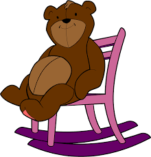 Rocking Chair Png Clipart Teddy Bear Rocking Chair