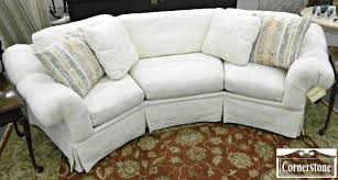 White Curved Sofa by Furniture White Leather Sectional Sofa Using Curved Arm Rest On