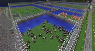 Minecraft Project Ideas Simple Animal Farm Minecraft Project