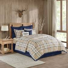 Eddie Bauer Rugged Plaid Comforter Set Buy Plaid Comforters From Bed Bath U0026 Beyond