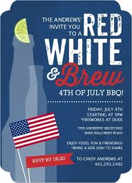 fourth of july ideas themes invitations