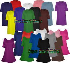 4x Plus Size Clothing Plus Size U0026 Supersize Solid Color T Shirts On Sale 0x 1x 2x 3x 4x