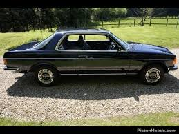 mercedes w123 coupe for sale used 1983 mercedes 230 ce pillarless coupe for sale in