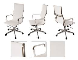 white office chair mesh white modern ergonomic mesh high back executive computer desk