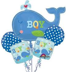 baby shower whale theme boy baby shower decorations