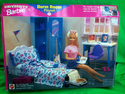 barbie cars from the 90s review university barbie dorm room playset 1998 u0026 barbie pet