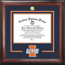 of illinois diploma frame of illinois urbana chaign diploma frame illinois
