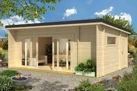 Loungemobel Garten Modern Modern Und äußerst Praktisch Das Pultdach Gartenhaus Java Von