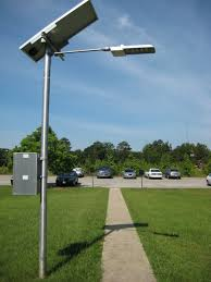 solar powered lightings systems electrotechnics corporation