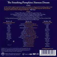 The Smashing Pumpkins Cherub Rock Acoustic by Smashing Pumpkins Siamese Dream 1993 2cd Dvd 2011 Virgin