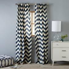 Gray Chevron Curtains Chevron Window Curtains Dragon Fly