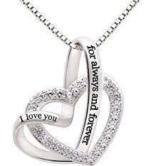 you necklace images 925 sterling silver jewelry quot i love you to the moon jpg