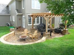 patio ideas backyard stone patio design ideas homemade backyard