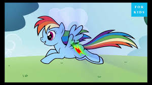 new kids movies 2016 rainbow dash my little pony mlp