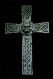 Celtic Skull - celtic skull cross by ashensorrow on deviantart