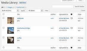 Organize Media by How To Organize Media Uploads By Users In Wordpress