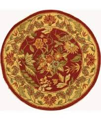 Red Round Rug 3 U0027 X 3 U0027 Rugs U0026 Area Rugs Shop The Best Deals For Oct 2017