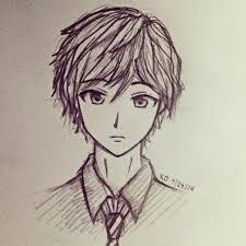 sketches of hair pencil drawings of boys hair drawn boy curly hair boy pencil and