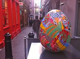 big easter eggs the hunt for the eggs big easter egg painted in london 19