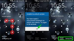 unlock pattern lock android phone software how to bypass android lock screen ubergizmo