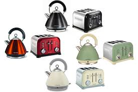 Kettle Toaster Offers Morphy Richards Metallic Accents Kettle And Retro 4 Slice Toaster