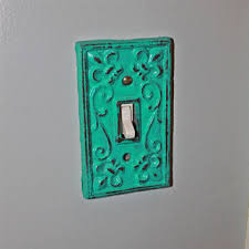 Shabby Chic Switch Plate by Best Painted Light Switch Plates Products On Wanelo