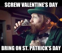 St Pattys Day Meme - st patrick s day home facebook