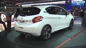 peugeot onyx engine peugeot 208 gti mondial auto 2012 youtube