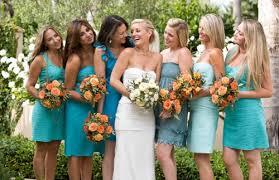 colored bridesmaid dresses bridesmaid dresses of different colors san francisco the