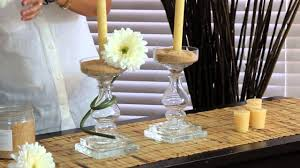 How To Decorate A Table How To Decorate A Crystal Candelabra Centerpiece Decorations For
