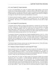 joint fleet maintenance manual chapter 3 light rail transit track geometry track design