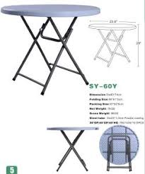 Small Portable Folding Table China 2016 New 60cm Small Round Folding Table For Dining Sy 60y