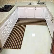 tapis de cuisine lavable en machine wenzhe tapis de cuisine porte absorption de l eau antidérapant