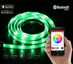 cheap led light strips playbulb comet 2m 6 6ft flexible led light strip lamp kit rgb