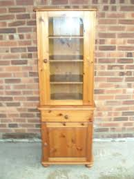 vintage corner china cabinet small china cabinet for sale rumorlounge club