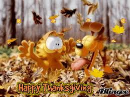 garfield odie happy thanksgiving picture 76075645 blingee