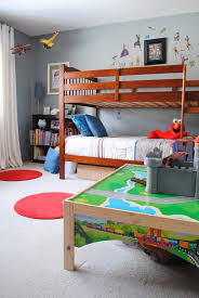 Bed For 5 Year Old Boy Tour My Home Boys Room Skateboard Haven Jenna Burger