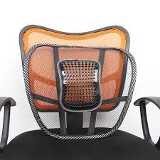 si e voiture ergonomique siège de retour coussin pad noir mesh lombaire brace