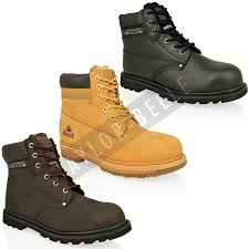 groundwork boots groundwork mens sk21 safety steel toe cap hiking