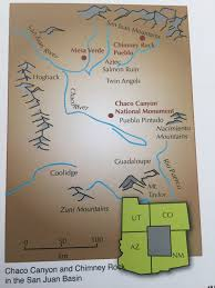 Mesa Arizona Map by Archaeology Astronomy And Ancestral Puebloans On Chimney Rock