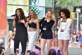 little mix show perrie edwards and jesy nelson photos photos little mix performs