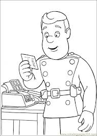 erryji fireman sam colouring pages kids